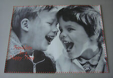 Vintage Friendships are a Happy Thing Boys Children Small People World #3 1970