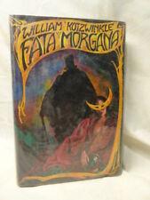 Kotzwinkle Fata Morgana 1st American Edition Hardcover Science Fiction Borzoi