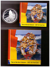 2007 $5 Proof Coin - Year of the Surf Lifesaver