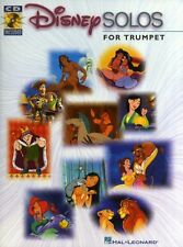 Disney Solos for Trumpet Sheet Music Book CD Learn NEW