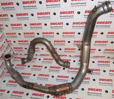 2003-2006 Ducati 749R 999R, all 4 pieces vertical & horizontal exhaust pipes