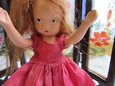 "Vintage Story Book Doll Red Head 6"" Goddess Jade Dolls"