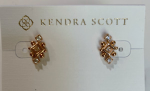 Kendra Scott Rose Gold-Plated Tilda Dainty Stud Earrings