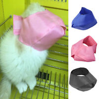 Cat Grooming Muzzle Adjustable Snout Anti Bite Cat Muzzle Cat Travel Tool JR