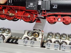 Rollenprüfstand  Motorrollenbock Spur H0 / DC von Bima-Modellbau !!! Neuheit !!!