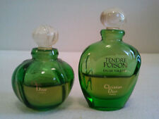 Lot Of 2x Dior Tendre Poison Miniature 2 x 5ml Collectable Womens Perfume Fragr.