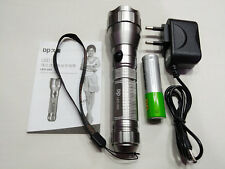 DP LED 532 Rechargeable Aluminum Flashlight/Torch 3 mode