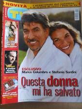 TV Sorrisi e Canzoni n°29 2002 Syria Giulio Scarpati Marco Columbro  [D53]