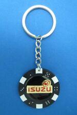 ISUZU LOGO POKER CHIP DICE KEYRING KEY RING CHAIN #119