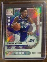 Donovan Mitchell Basketball Card #7 Panini Status Symbols SP NBA Utah Jazz MINT