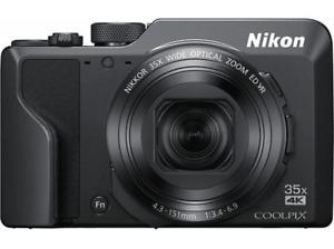 Cámara Nikon Coolpix A1000, 16 MP, Lente de zoom óptico 35x, Enfoque 24 a 840 mm