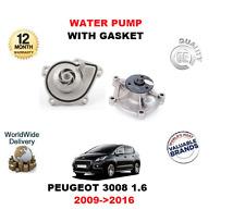 pour Peugeot 3008 1.6 VTI 1.6 THP 2009- >2016 Pompe à eau avec joint