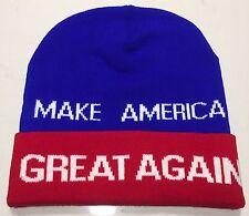 President Donald Trump Make America Great Again 2016 Woven BEANIE HAT MAGA TRAIN