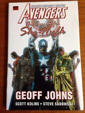 The Avengers: The Search For She-Hulk sealed hardcover Geoff Johns