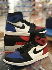 Nike Air Jordan AJ 1 Top 3 Bred Royal Red Black Blue 555088-026 Men's Size 11.5