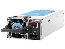 HP HPE 500w Flex Slot Platinum Hot Plug Power Supply Kit 720478-b21 G9 Server