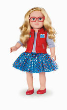 """My Life As Class President Blonde Poseable Girl Doll 18"""" Doll New"""
