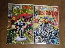 RESURRECTION #1 & 2 FEATURING SILVER SURFER AND ADAM WARLOCK (MARVEL, 1993)