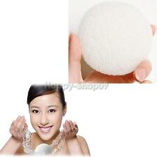 Natural Konjac Konnyaku Facial Puff Face Wash Cleansing Clean Sponge White