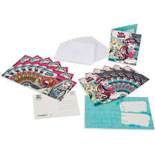 Monster High You're Inbited! Party Invite and Thank You Combo 8-Pack Each