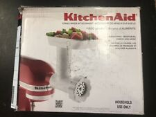 KitchenAid Refurbished Stand Mixer Attachment Food Grinder White - RRFGA