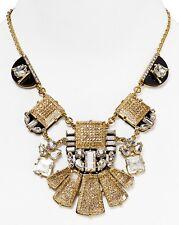 Kate Spade Huge Breathtaking Imperial Tile Statement Necklace Mod Art Deco