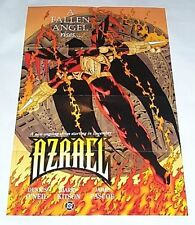 1994 DC Comics 34x22 Azrael promo poster 1:Knightfall/Knightsend/Ex Batman/1990s