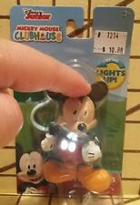 DISNEY MICKEY MOUSE CLUBHOUSE Little Lights Clip On Light Up Figure NEW