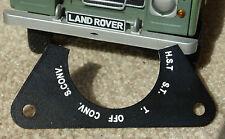 LAND Rover Serie 90 110 Militare dell'Esercito leggero IR 6 vie interruttore dei fari anteriori