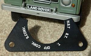 Land Rover Série Défenseur Militaire Armée Léger Ir 6 Voie Phare Interrupteur