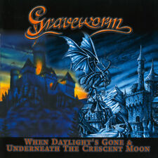 Graveworm WHEN DAYLIGHT'S GONE & UNDERNEATH THE CRESCENT MOON CD LTD DIGIPAK