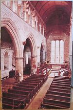 Uk Postcard Lanercost Priory Interior Cumbria Cumberland Fnded 1166 England 4x6