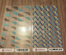 Jamberry 2 Full Sheet (clear) All the Rage and July 2016 He