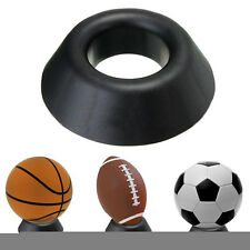 Ball Stand Display Rack Basketball Football Soccer Rugby Support Base Holder New