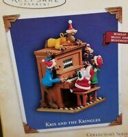 Hallmark Keepsake 2004 KRIS AND THE KRINGLES #4  Music & Movement  QX8114   MIB