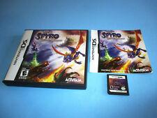 The Legend of Spyro Dawn of the Dragon (Nintendo DS) Lite DSi XL w/Case & Manual