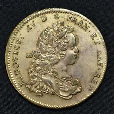 More details for nd (1715-22) france, louis xv, estates of artois brass jeton, f6887, m3648