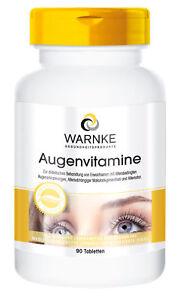 Augen-Vitamine - 90 Tabletten | reichhaltiges Multivitamin mit Augenvitalstoffen