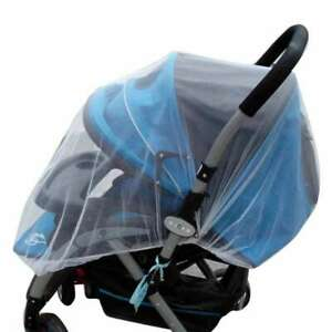 Elastic Band Baby Mosquito Insect Bug Net Covering for Strollers Carriers Cra