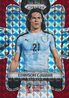 2018 Panini Prizm World Cup Russia '18 Uruguay Red Mosaic Parallel (#209 - #216)