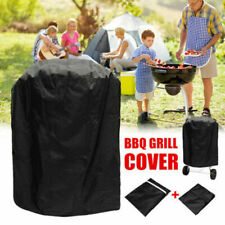 Round BBQ Grill Cover Gas Barbecue Waterproof BBQ Grill Protective Cover