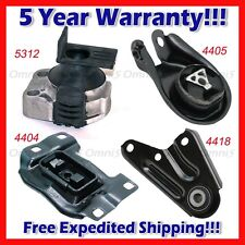 M086 Fits 2006-2010 Mazda 5, 2.3L Engine Motor & Trans Mount Set 4pcs