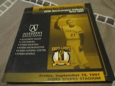 Roberto Clemente Pittsburgh Pirates 25th Anniversary decal limited edition
