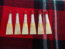 Scottish Bagpipe Can Reed 6 Pcs/Highland Bagpipes Reeds ready to Play 6 Pcs Reed