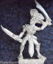 1989 DARK ELF mm73 nous 6 sorcière MARAUDEUR GUERRIER armée Elfes drow Warhammer Citadel