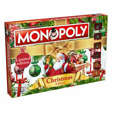Winning Moves 024358 Christmas Edition Monopoly