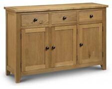 Julian Bowen Astoria Sideboard - American White Oak Finish
