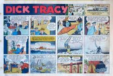 Dick Tracy by Chester Gould - large half-page color Sunday comic, March 29, 1959