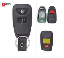 Remote Control Key Fob 2+1 Button 433MHz for Hyundai Tucson Santa Fe 2005-2009