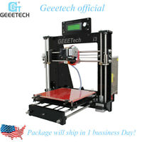 Geeetech3D Printer Acrylic Reprap Prusa I3 Pro B  MK8 LCD2004 Upgraded Z Axis